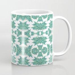Jungle rhythm - retro inspired palm tree print Coffee Mug