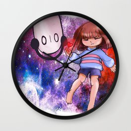 Space out Wall Clock