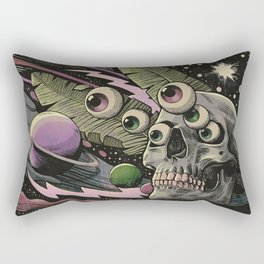 Cosmos Nightmare Rectangular Pillow