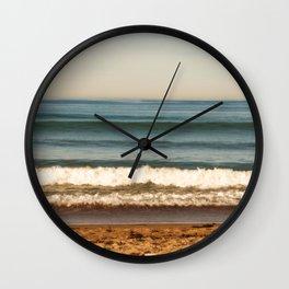 Beach photograph. Layer Cake Wall Clock