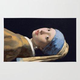Girl With a Pearl Earring - Vermeer Rug