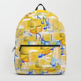 BEERS AND MUSIC EMOJIS Backpack