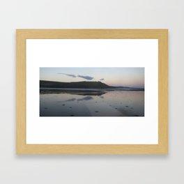 Highland loch Framed Art Print