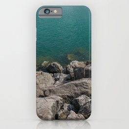 Water and Rocks iPhone Case