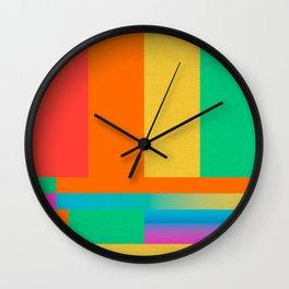 TV BARS AND TONE LGBT Wall Clock