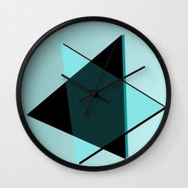 Oh blacky blue ... Wall Clock