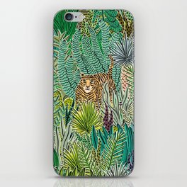 Jungle Tigers by Veronique de Jong iPhone Skin