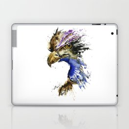 Golden Eagle - Colorful Watercolor Painting Laptop & iPad Skin