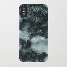 Watercolor textures iPhone X Slim Case