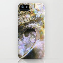 Abalone Portrait iPhone Case