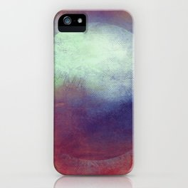 Circle Composition iPhone Case