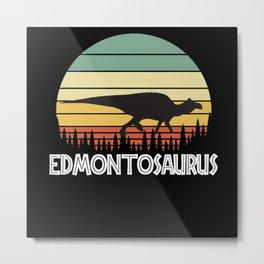 Edmontosaurus Metal Print
