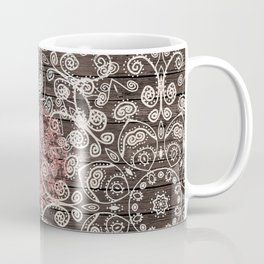 HAPPY GO LUCKY - BOHO WOOD Coffee Mug