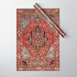 Heriz  Antique Persian Rug Print Wrapping Paper