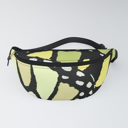 MONARCH BUTTERFLY WINGS ABSTRACT MODERN ART Fanny Pack