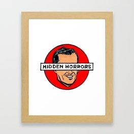 Hidden Horrors Framed Art Print