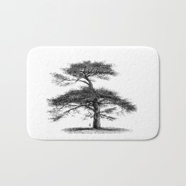 Big tree Bath Mat