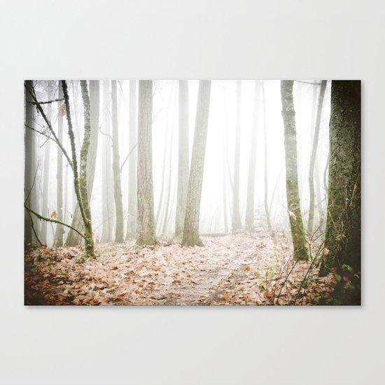FOREST SECRETS Canvas Print