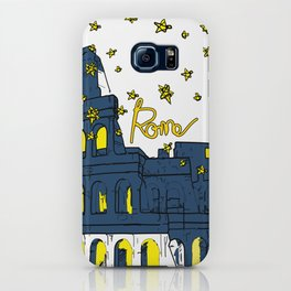 Rome Italy Colosseum Starry night iPhone Case