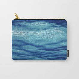 Underwater view of the sea surface. Carry-All Pouch