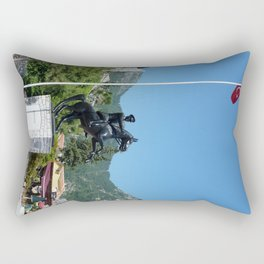 Turunc Statue Rectangular Pillow