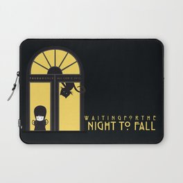 Waiting for the night to fall Laptop Sleeve