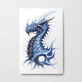Thunder Dragon Metal Print