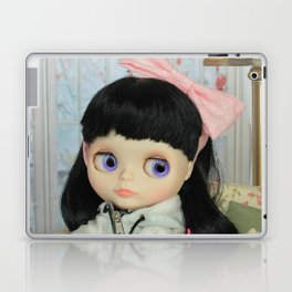 Winter, cold and windy day Laptop & iPad Skin