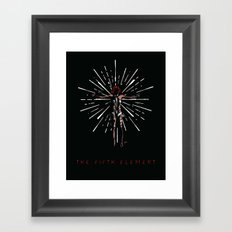 Leeloo Dallas Multipass Framed Art Print