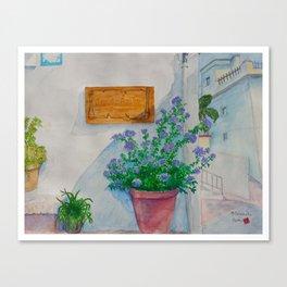 Salobrena Canvas Print