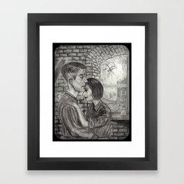 Winston and Julia Framed Art Print