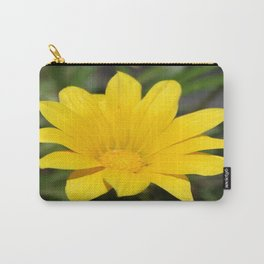 Bright Yellow Gazania Flower Carry-All Pouch