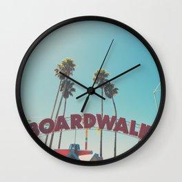 Santa Cruz boardwalk ... Wall Clock