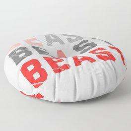Be a Beast Floor Pillow