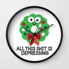 Ho Ho Hopeless Wall Clock