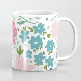 Enchanting Flower Patterns Coffee Mug