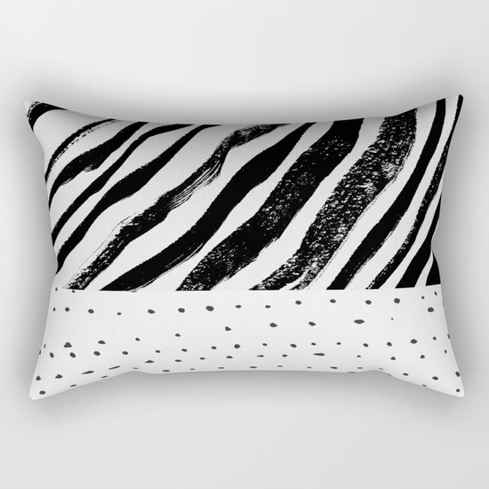 BWMix Rectangular Pillow