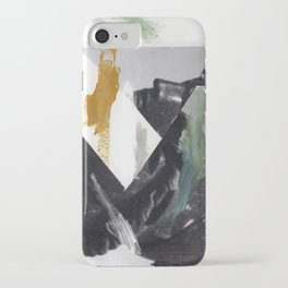 Untitled (Painted Composition 2) iPhone Case