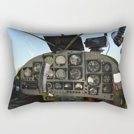 cockpit Rectangular Pillow