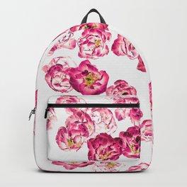 Pink Heaven #digitalart #floral Backpack