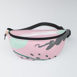 Doodle - Pink Fanny Pack