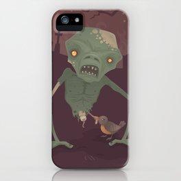 Sickly Zombie iPhone Case
