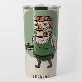 Abraham Travel Mug