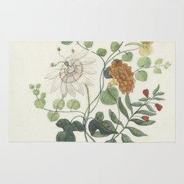 Machtelt Moninckx - Still life with flowers - 1600/1687 Rug