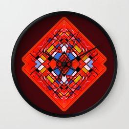 Triballellogram Wall Clock