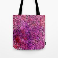 las vegas Tote Bags featuring Las Vegas by Andrea Gingerich