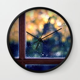 Cleaning Day Wall Clock