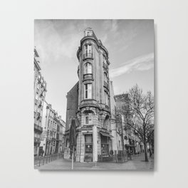 Lille Le Carnot cafe Metal Print