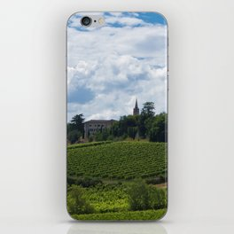 vineyards in France iPhone Skin