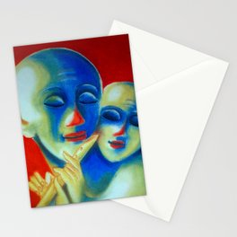 Krishna with Kid Stationery Cards